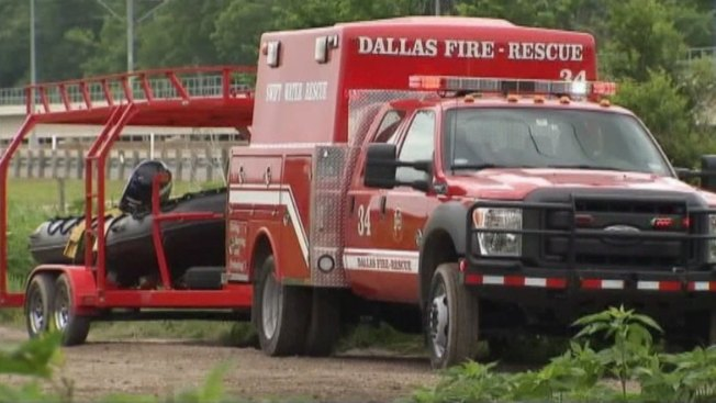 Dallas Fire-Rescue Called to Swift Water Rescue