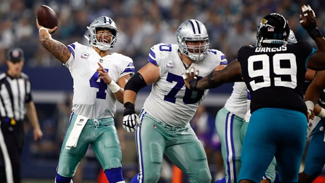 Prescott Sparks Punchless Pass Game, Cowboys Rout Jags