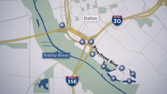 Superbe Dallas Water Garden Planned Along Riverfront Boulevard