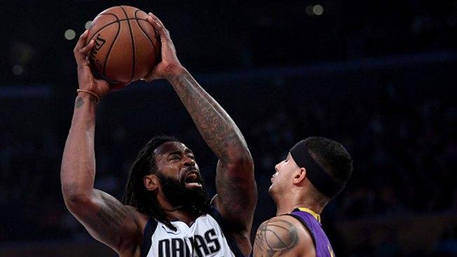Barnes, Jordan Star in Mavericks' Win Over Clippers