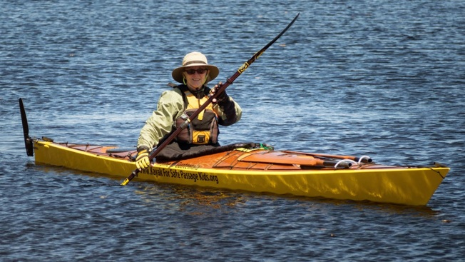 """Grandmother Calls Solo 2,500-Mile Kayak Odyssey """"Easier Than I Thought,"""" So Far"""