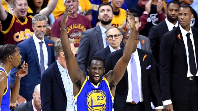 Draymond Green ejected, then referees switch call in weird NBA Finals moment