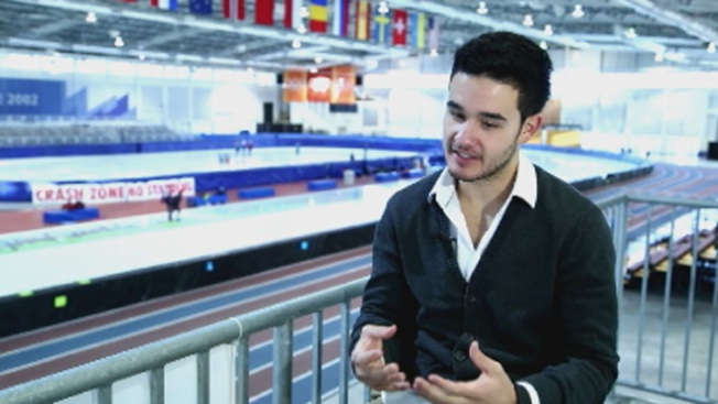 Olympic Skater Posts Photo With Anti-Doping Control