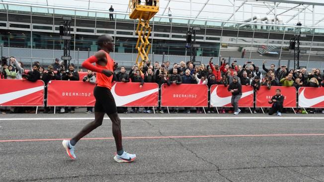 8661508199161 Man Falls 26 Seconds Short of 1st Sub 2-Hour Marathon - NBC 5 Dallas ...