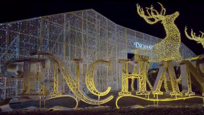 enchant the worlds largest light maze market nbc 5 dallas fort worth
