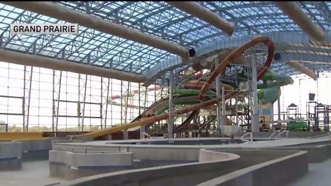 Sneak Peek Inside Grand Prairie 39 S New Indoor Water Park Nbc 5 Dallas Fort Worth