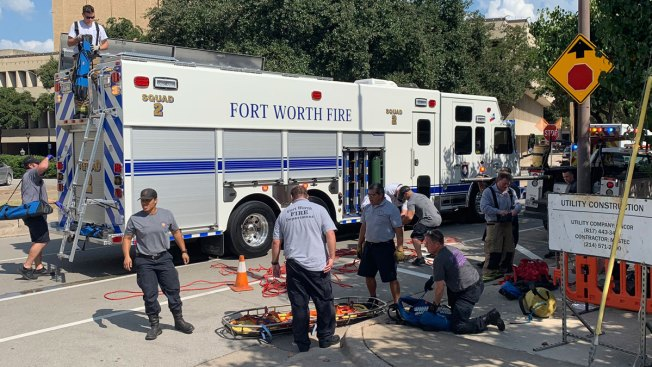 Construction Worker Hospitalized After Electrocution in Downtown Fort Worth