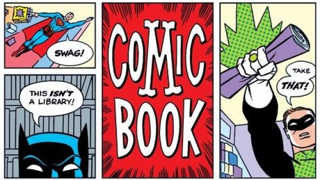 Free Comic Books! Pow! Zing!