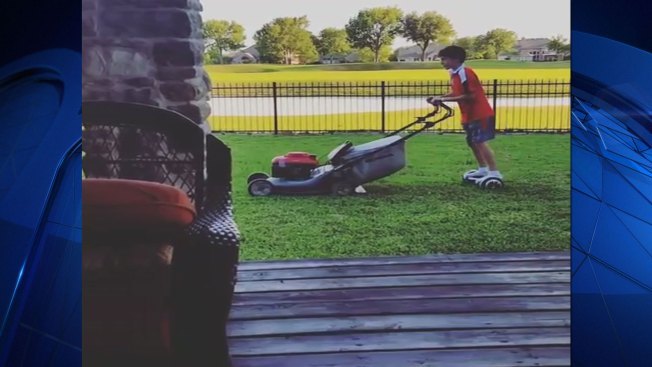 Hoverboard Takes The Chore Out Of Mowing The Lawn Nbc 5