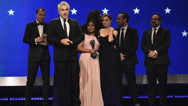 'Roma' Tops Critics Choice Awards, Gaga and Close Split Award