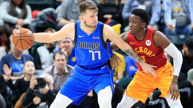 NBA Fines Mavs Rookie Luka Dončić for Kicking Ball Into Stands