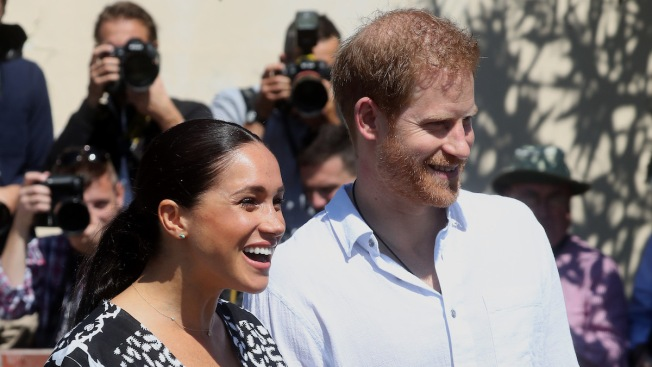 Harry and Meghan Start 1st Official Tour as Family in Africa