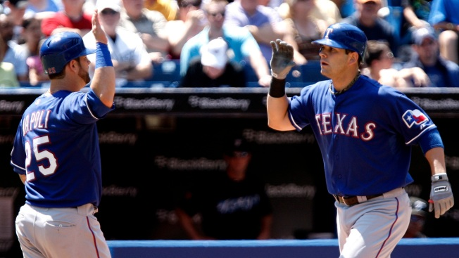 Rangers, Moreland Avoid Arbitration