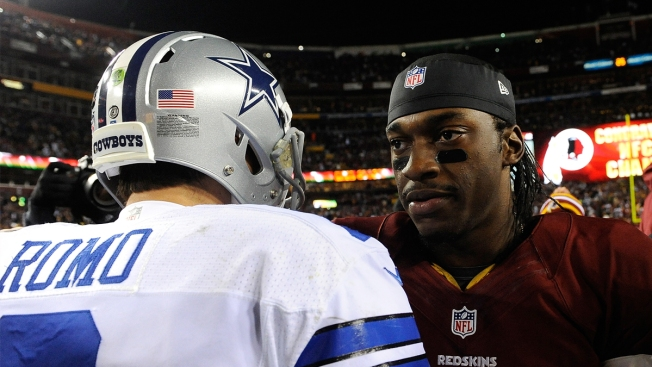 Report: Cowboys Not Considering RG3 in Free Agency