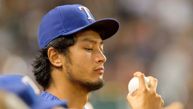 Darvish in Line Saturday for 1st Rangers Start Since Surgery