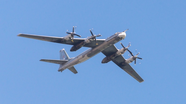 US Fighter Jets Intercept Russian Bombers Flying Near Alaska