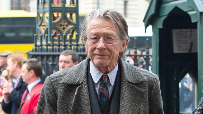 British Actor John Hurt 'Optimistic' About Cancer Treatment