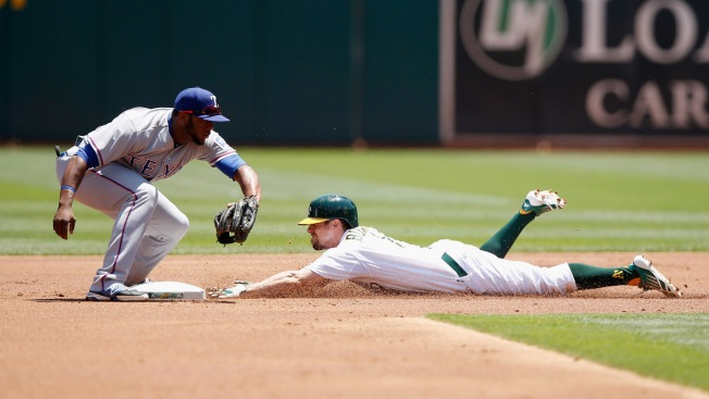 Kazmir Ends 9-Start Winless Streak as A's Beat Rangers