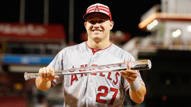 Trout Shines, Shows Rangers What They're Chasing