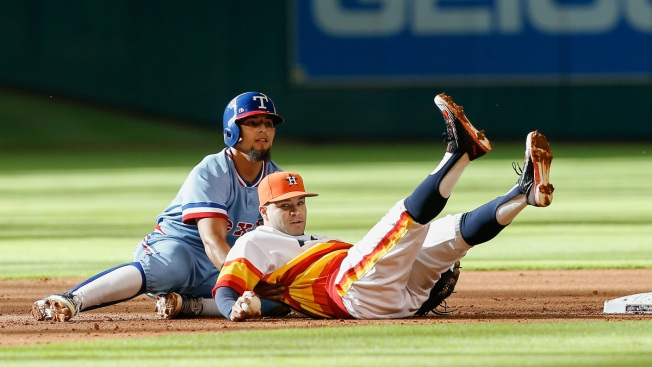 Odor's Antics Fires  Up The Rangers'... Opponents