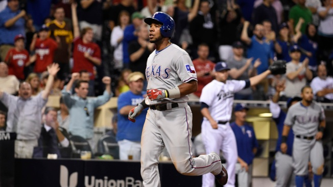 Moreland Leads Rangers to 4-3 Win Over Padres in 10 Innings