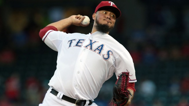 Rangers Need Good Gallardo to Open Big Series