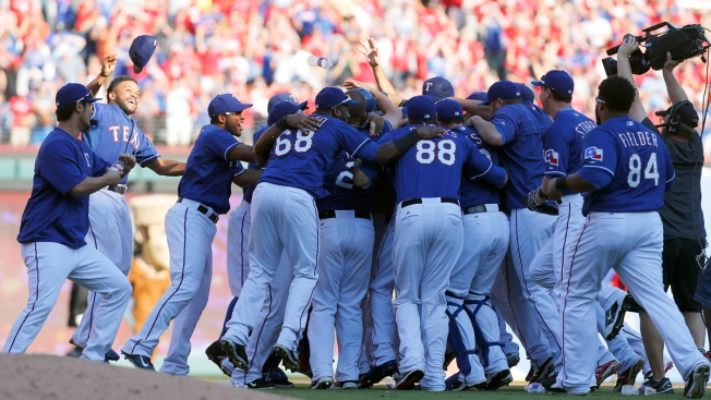 Rangers' Reward For Never Ever Quitting: Date With World Series Favorites