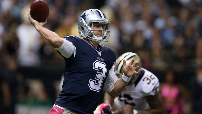 'Limited' or Not, Cowboys' Weeden Carrying on as Romo Sub