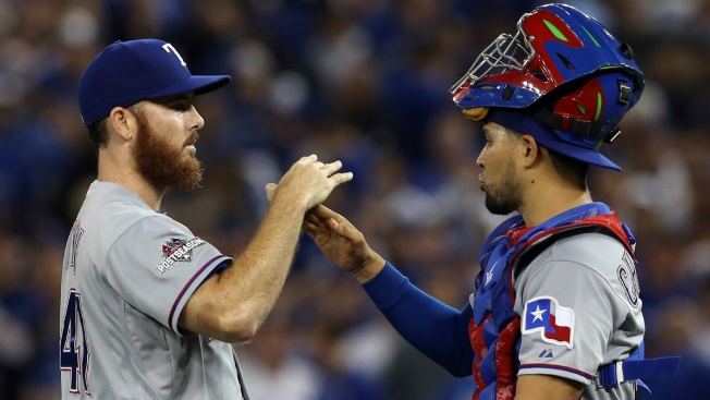 Rangers' Bullpen Set for Long Haul
