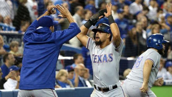 Rangers Considering Odor Extension