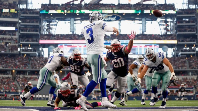Depleted Cowboys Handled By Patriots, 30-6
