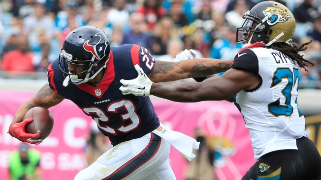 Texans to Cut Foster