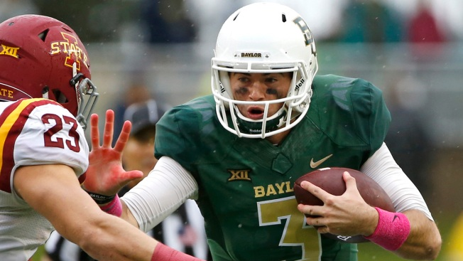 No. 4 Baylor Goes For 3rd Straight Win Over No. 12 Oklahoma