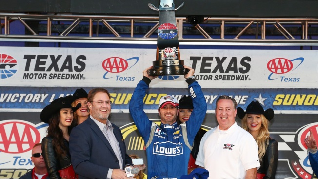 Jimmie Johnson Wins AAA-Texas 500 at TMS