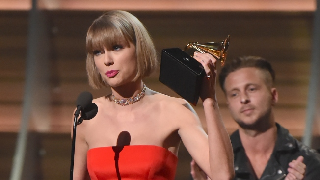 Taylor Swift Slams Kanye West During Acceptance Speech for Album of the Year at Grammy Awards 2016