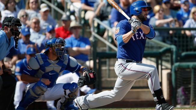 Rangers Beat Royals in Cactus League, 10-0