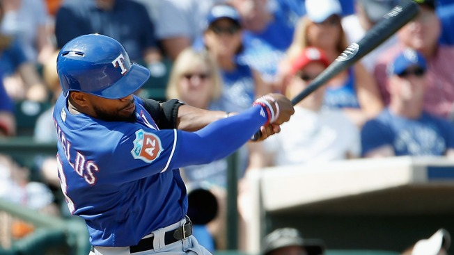 Gallo, DeShields Lead Rangers Over Brewers, 8-5