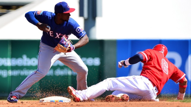 Profar Plays at 2B for Round Rock