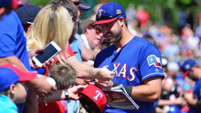 Rangers Spring Training 2016
