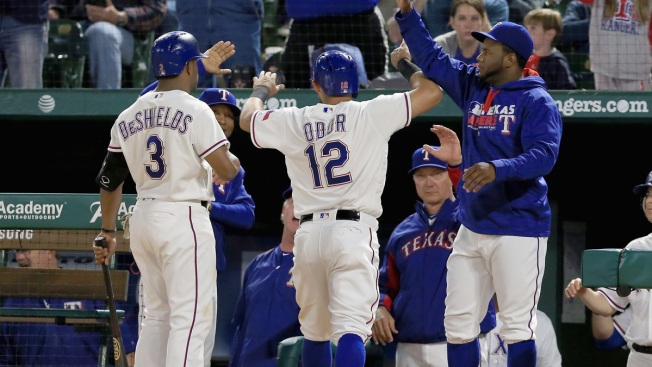 Texas Rally Gets Hamels Off Hook As Rangers Top Orioles 6-3