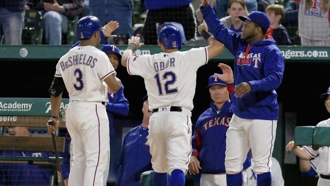 Texas Rally Gets Hamels Off Hook As Rangers Top Orioles 6-3