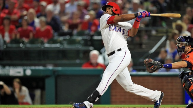 Rangers Strike 1st in Lone Star Series, Beat Astros 7-5