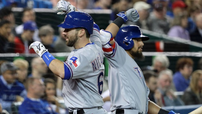Mazara Hits Tiebreaking HR, Rangers Beat Blue Jays 2-1