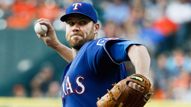 Colby Lewis Continues To Display Toughness For Rangers