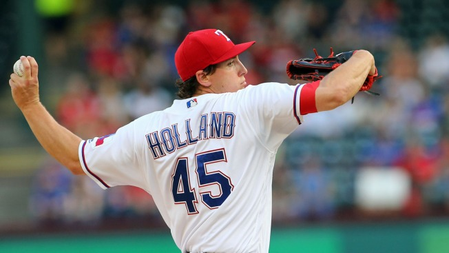 Derek Holland Set to Pitch Tomorrow Night