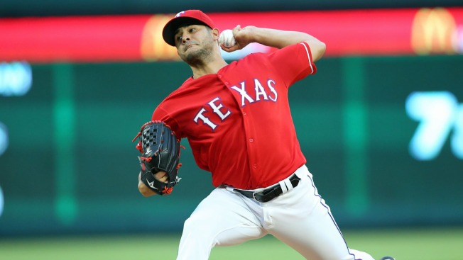 Rangers Youngsters Perez, Mazara Key 4-1 Win Over Angels