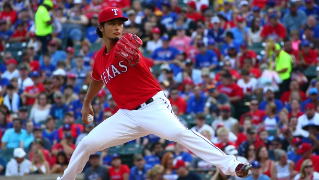 Darvish OK Day After Early Exit
