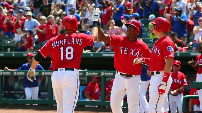 Struggling Fielder, Moreland Lead Rangers Past Pirates 6-2