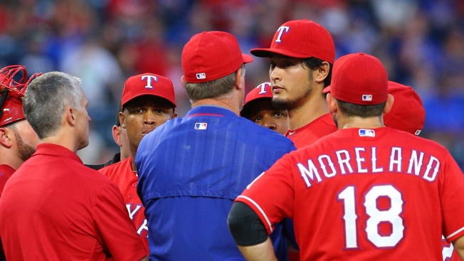 Darvish Scratched From Monday's Start