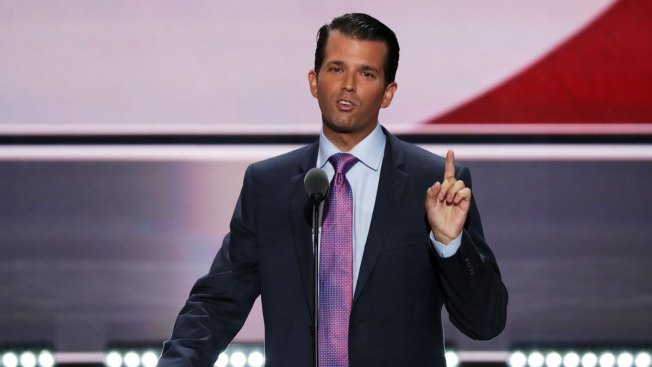 HomeDonald Trump Jr. Says Media 'Warming Up the Gas Chambers' for Donald